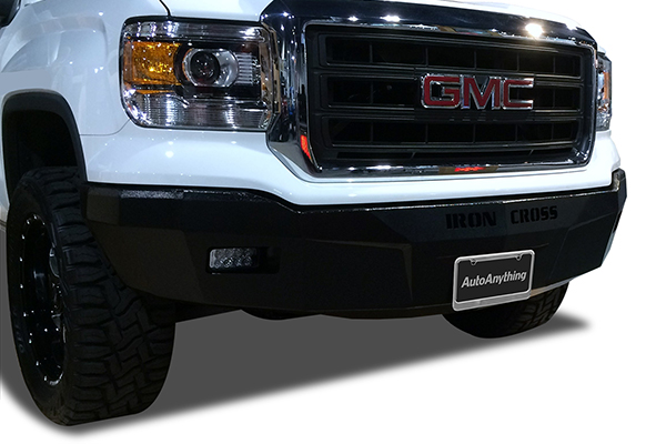 iron cross rs front bumpers gmc lifestyle