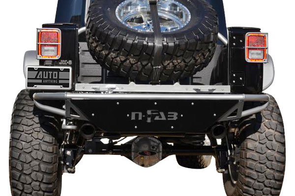 n fab rbs rear bumper rearview