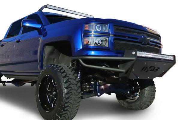 n fab rsp front bumper silverado
