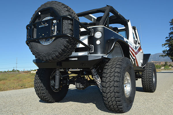 poison spyder bfh rear bumpers lifestyle
