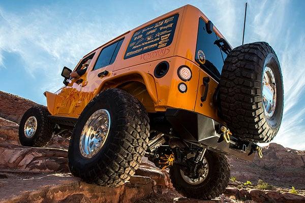 poison spyder rockbrawler rear bumpers offroad
