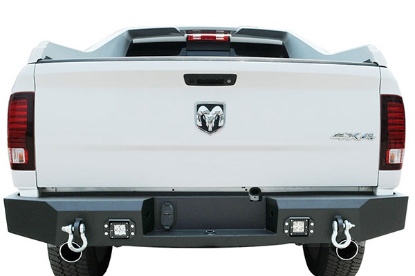 proz premium rock crawler hd rear bumper installed 4