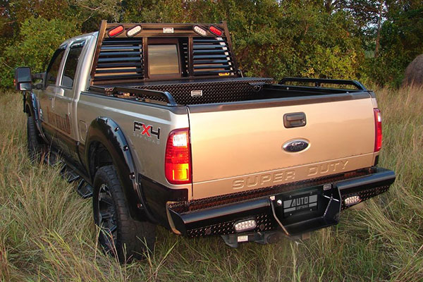 ranch hand legend rear bumper lifestyle