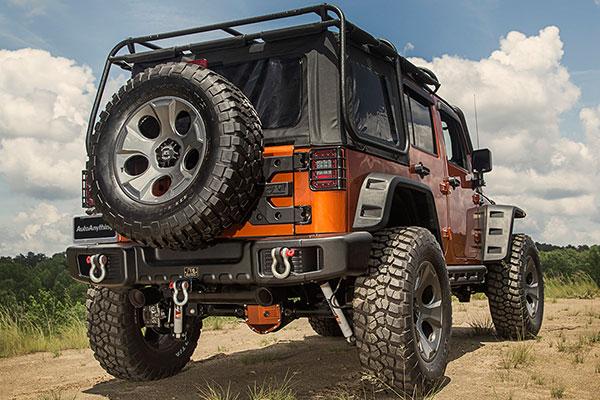 rugged ridge spartacus rear bumper lifestyle