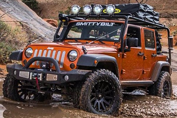 smittybilt atlas front bumper jeep off road lifestyle