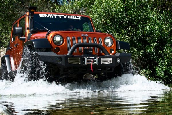 smittybilt atlas front bumper jeep river lifestyle
