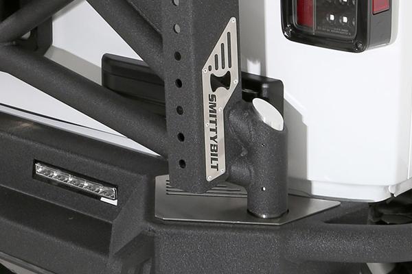 smittybilt gen2 src rear bumper jack mount