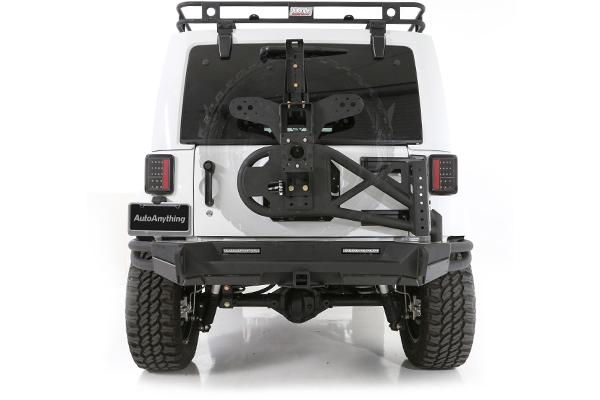 smittybilt gen2 src rear bumper jeep installed