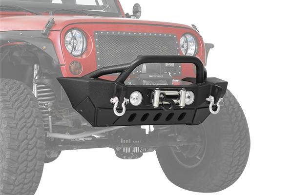 smittybilt gen2 xrc front bumper installed