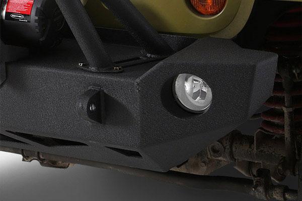 smittybilt src carbine front bumper light