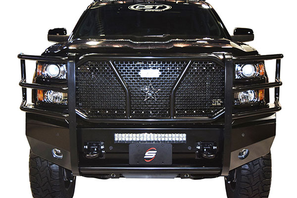 steelcraft hd front bumper installed