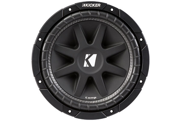 kicker comp subwoofers front
