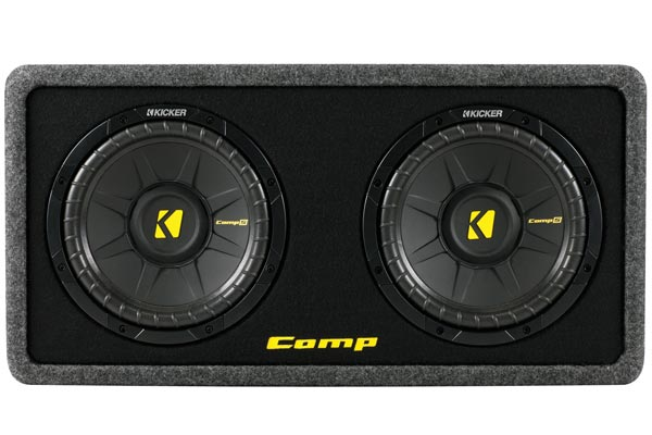 Kicker - 40DCWS102 Kicker CompS Loaded Enclosures Single or dual ...