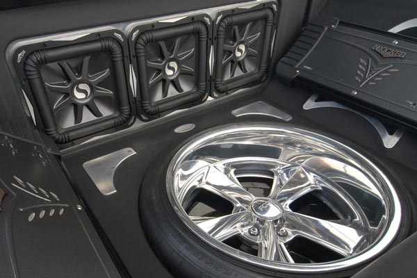 kicker solo baric l7 subwoofers installed duster