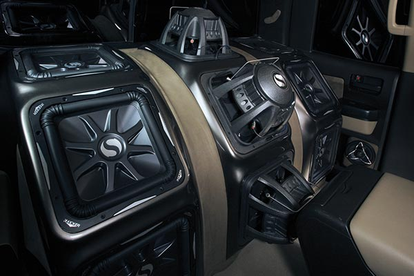 kicker solo baric l7 subwoofers installed tundra