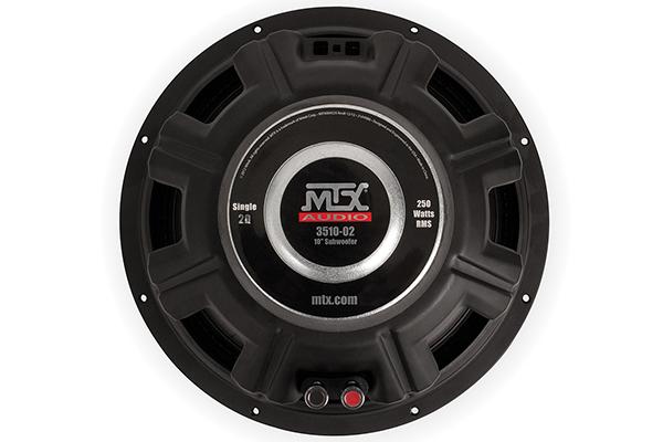 mtx 35 series subwoofer back