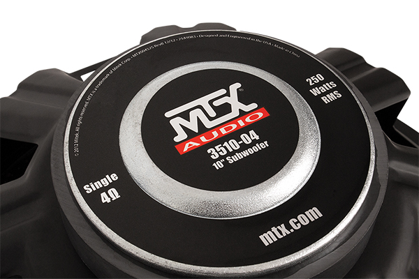 mtx 35 series subwoofer back plate