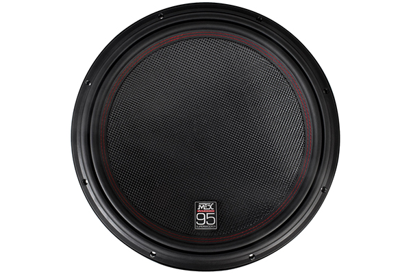 mtx 95 series subwoofer front