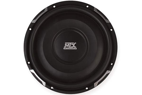 mtx flat piston shallow mount subwoofer front