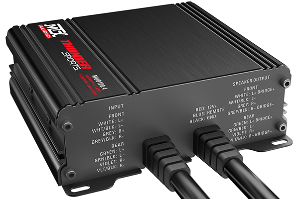 mtx power sports amplifier back