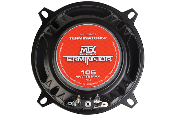 mtx terminator component speaker systems back