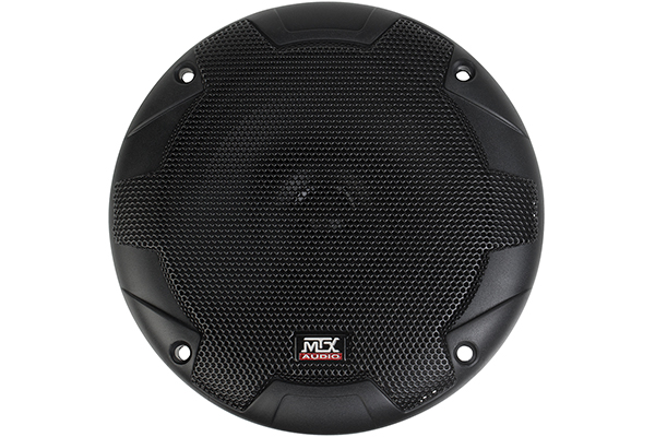 mtx terminator component speaker systems front with grille