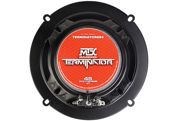 mtx terminator speakers 6x5 back