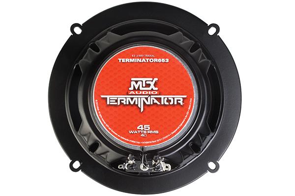 mtx terminator speakers 6x5 back