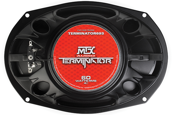 mtx terminator speakers 6x9 back
