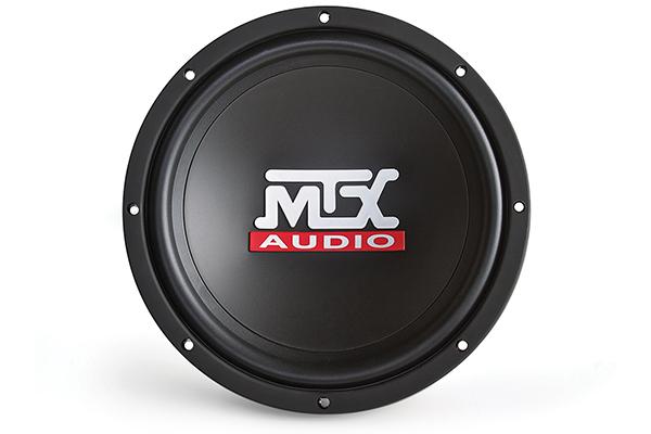 mtx terminator subwoofer front
