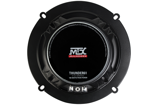 mtx thunder component speaker systems back