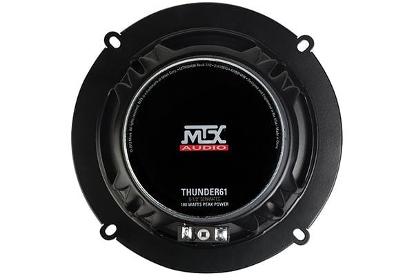 mtx thunder component speaker systems back