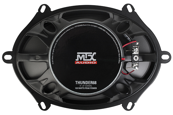 mtx thunder speakers back
