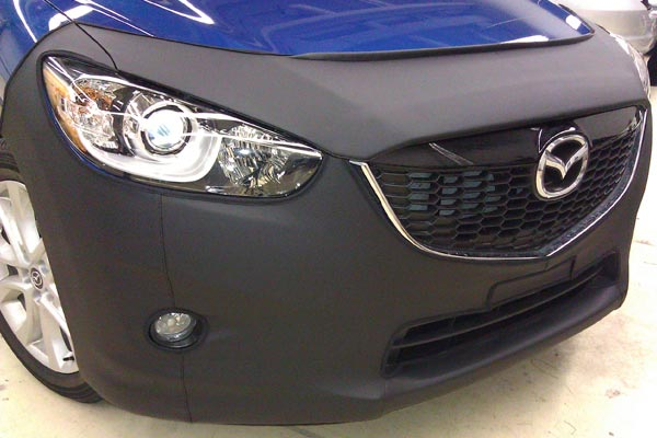 coverking car bra mazda sidecloseup
