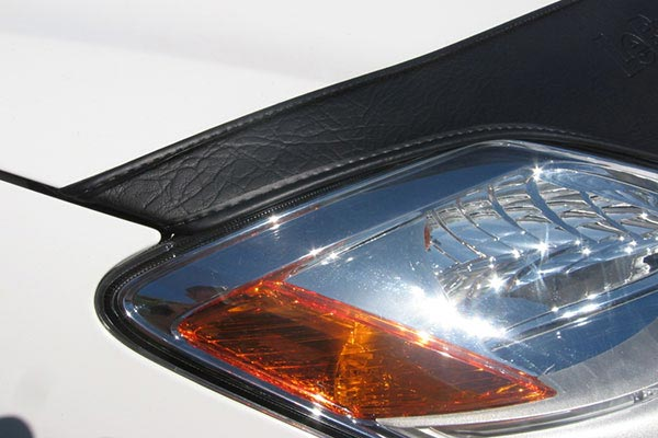 lebra custom hood protector light