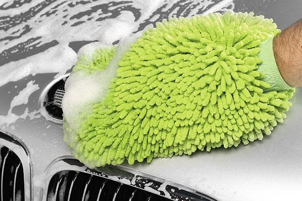 griots garage microfiber mitts washing