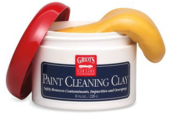 griots garage paint cleaning clay