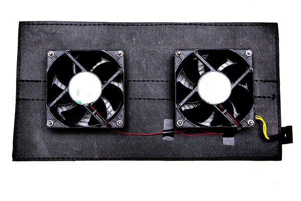 carcapsule outdoor vehicle storage system fan v2 front