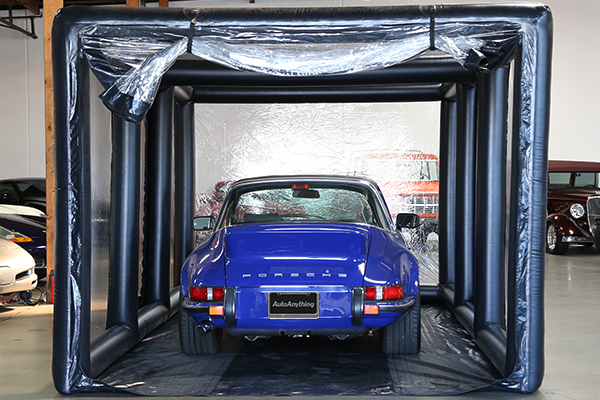 carcapsule showcase indoor vehicle storage system porsche enter