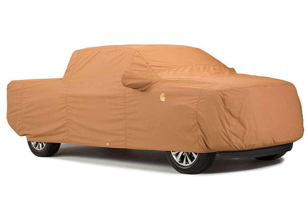 carhartt work truck cover brown truck covered