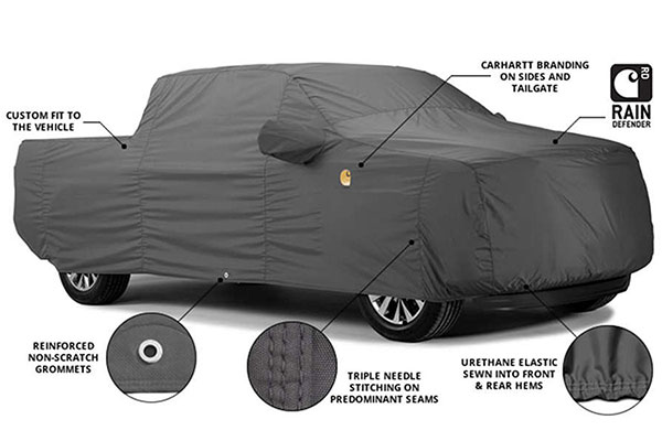 carhartt work truck cover features
