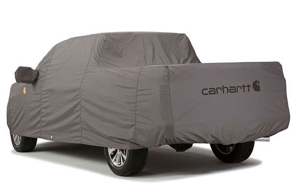 carhartt work truck cover gravel rear