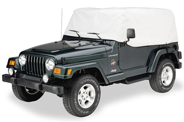covercraft cab only wrangler green