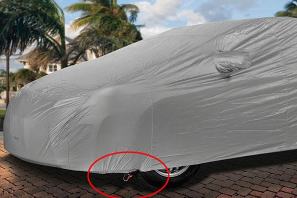 covercraft evolution car cover gust guard 1