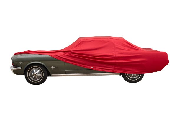 covercraft fleeced car cover mustang profile pulled