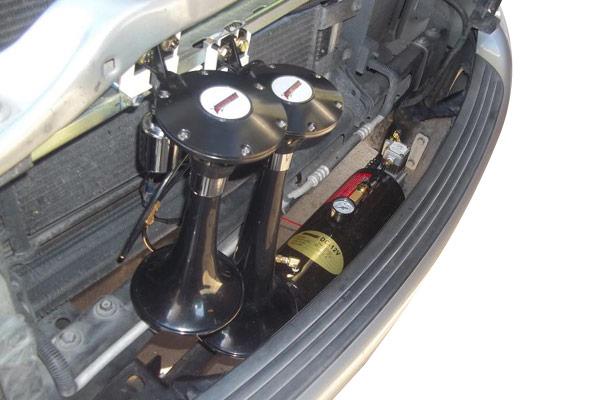 kleinn pro blaster compact air horn kits dodge ram
