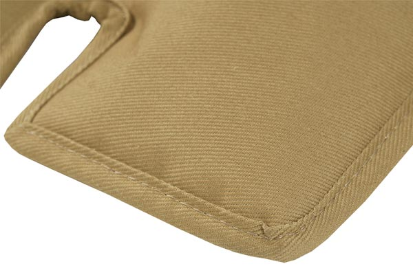 canine covers cargo liner dog bed material closeup