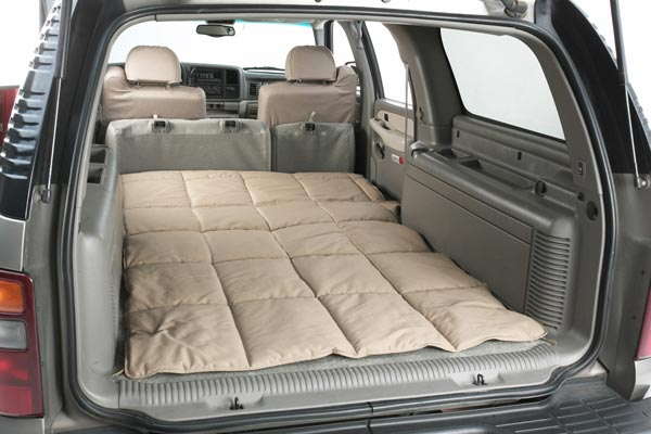 canine covers cargo liner dog bed seat down