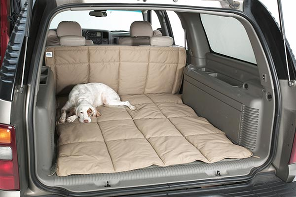 canine covers cargo liner dog bed seat up
