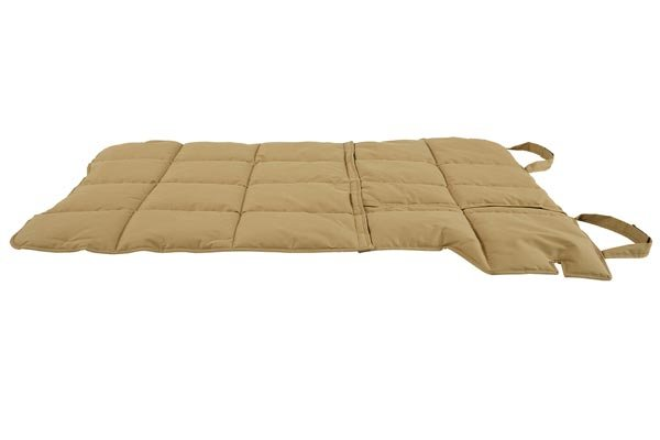 canine covers cargo liner dog bed side profile